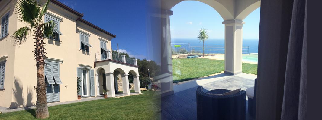 Villa Neoliberty, in località Capo Berta ad Imperia – LifeQualitySystem